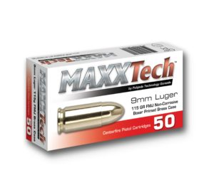 Metak pištoljski MaxxTech 9mm Luger