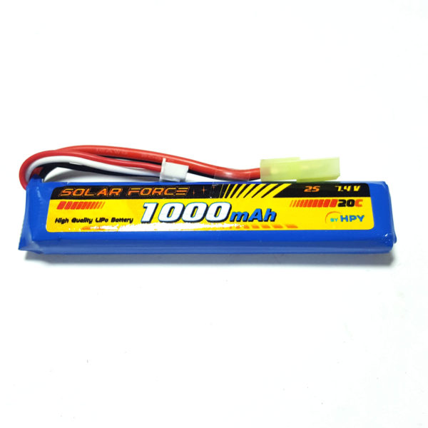 Solar Force 7.4 V 1000mah